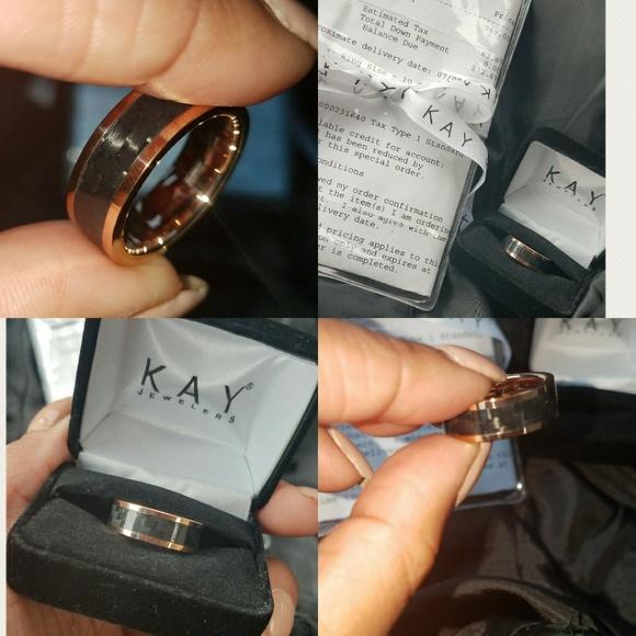 Kays Jewelry Mens Wedding Rings.Men S Wedding Band Nwt